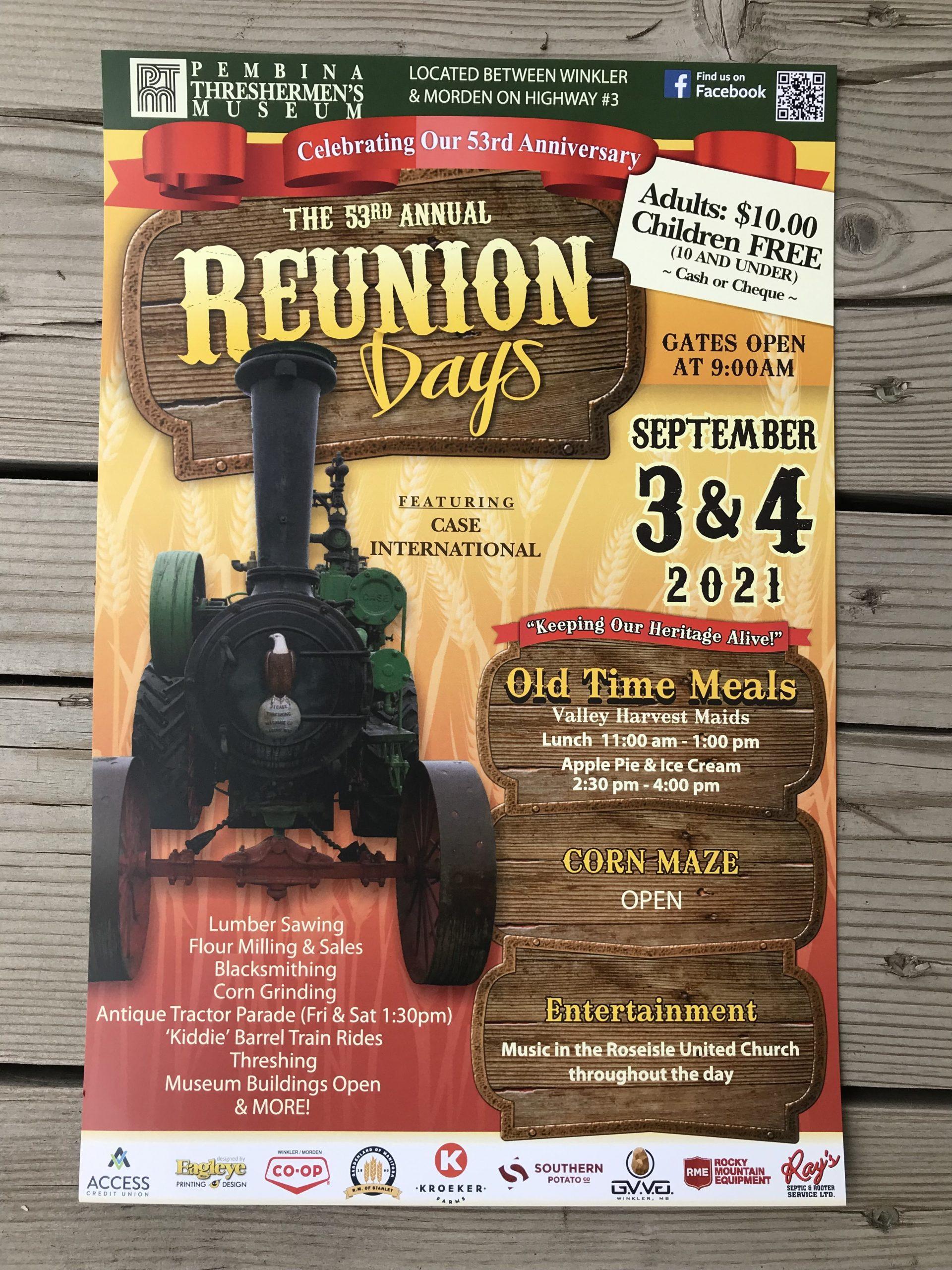 Reunion Days